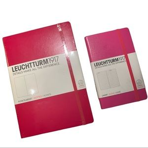 NWT Leuchtturm1917 Notebooks 2X